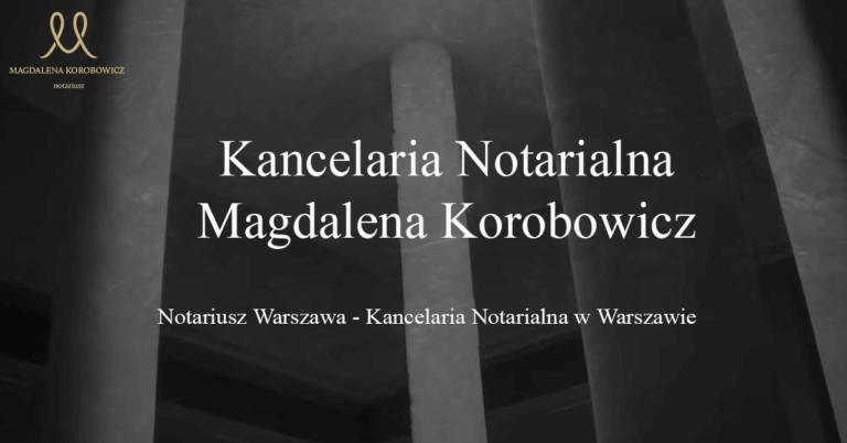 Sporządzanie protestów weksli i czeków Warszawa Kancelaria Korobowicz